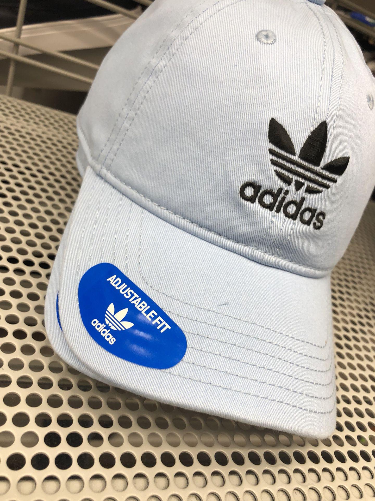 Adidas caps! One size fits all!