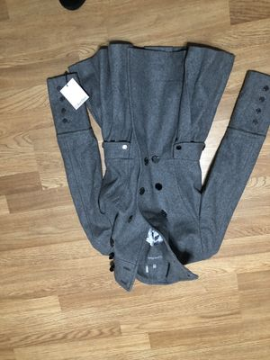 Grey Calvin Klein coat lady small for Sale in Washington, DC