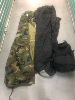Photo 2 military sleeping bags