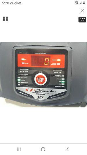 Photo Schumacher 100 amp 6volt/12 volt battery charger, starter