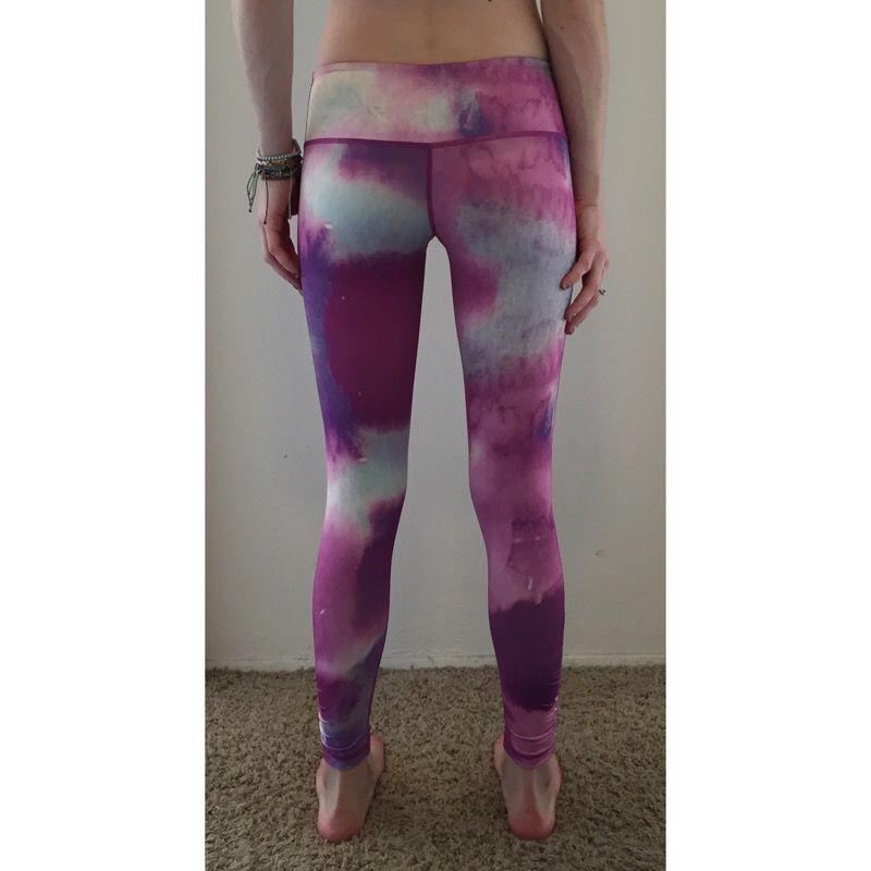 "Glyder Apparel ""Purple Rain"" Print Chakra Performance Legging"