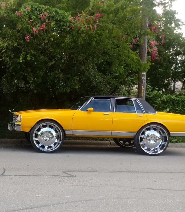 Chevy Caprice ..everything Has Been Restored...on 30s