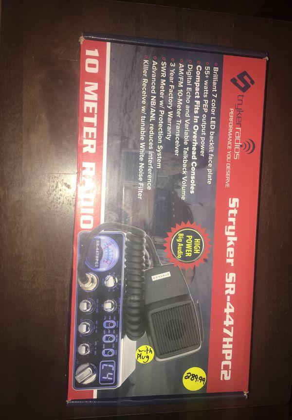 Stryker SR-447HPC2 cb radio for Sale in Castroville, TX - OfferUp