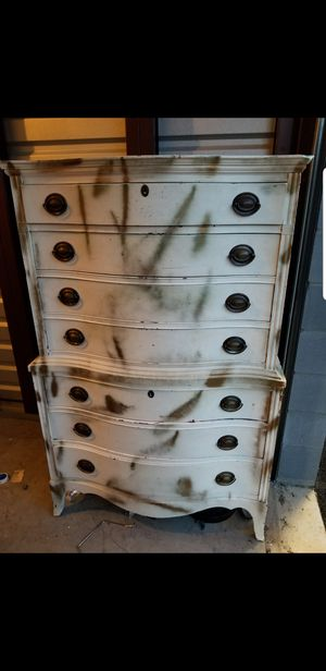 Tall boy dresser and chest for Sale in Chantilly, VA