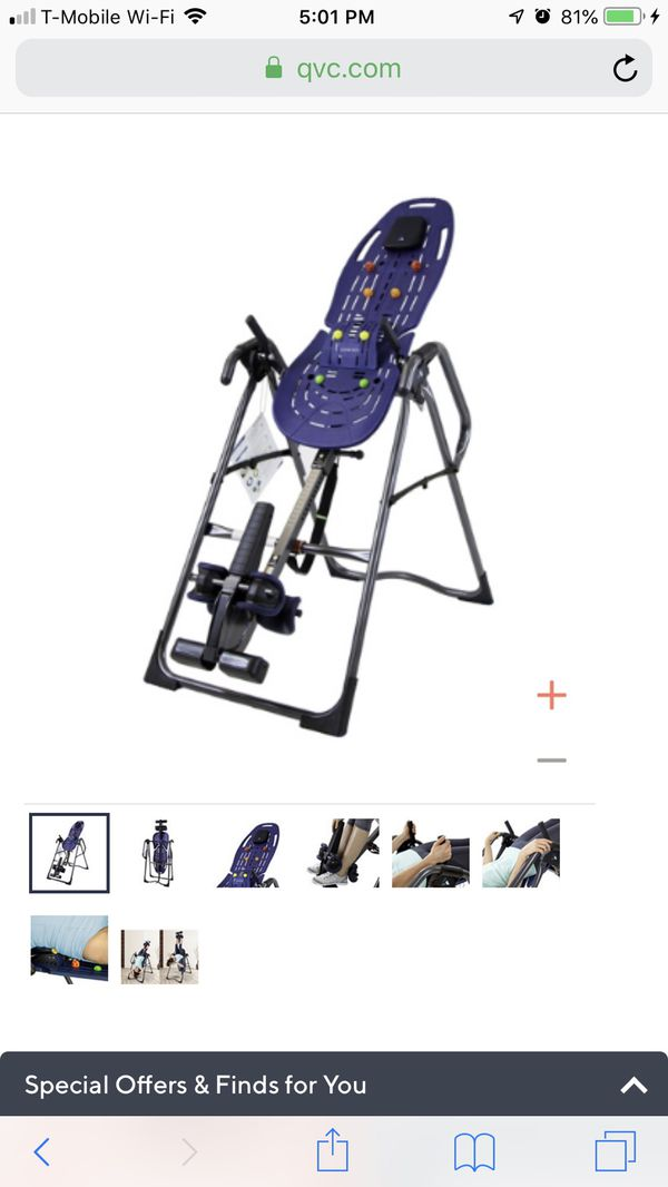 Teeter inversion table for Sale in Miami, FL - OfferUp