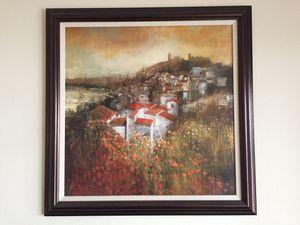 "Photo Framed John Douglas Canvas 32 1/2"" x 32 1/2"""