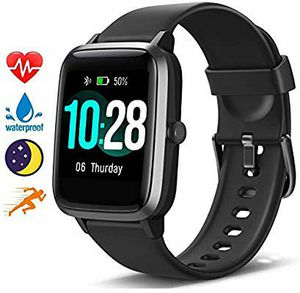 Photo Blackview Smart Watch for Android Phones and iOS Phones, All-Day Activity Tracker with Heart Rate Sleep Monitor, 1.3 Full Touch Screen