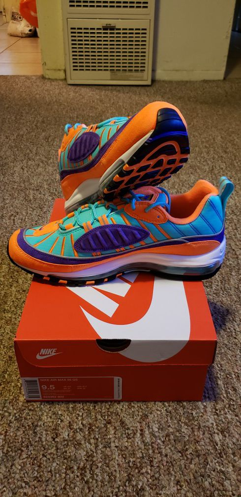 promo code d342a 6fb74 Nike Air Max 98 QS Cone / Rugrats DS for Sale in San Diego, CA - OfferUp