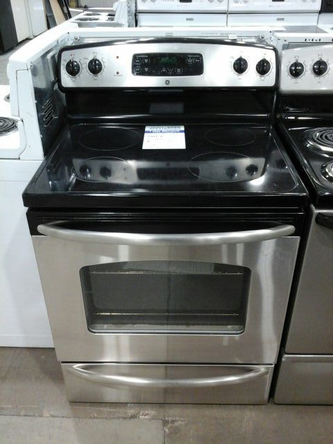 Stainless Steel Ge Electric Gl Top Stove For In Colorado Springs Co Offerup
