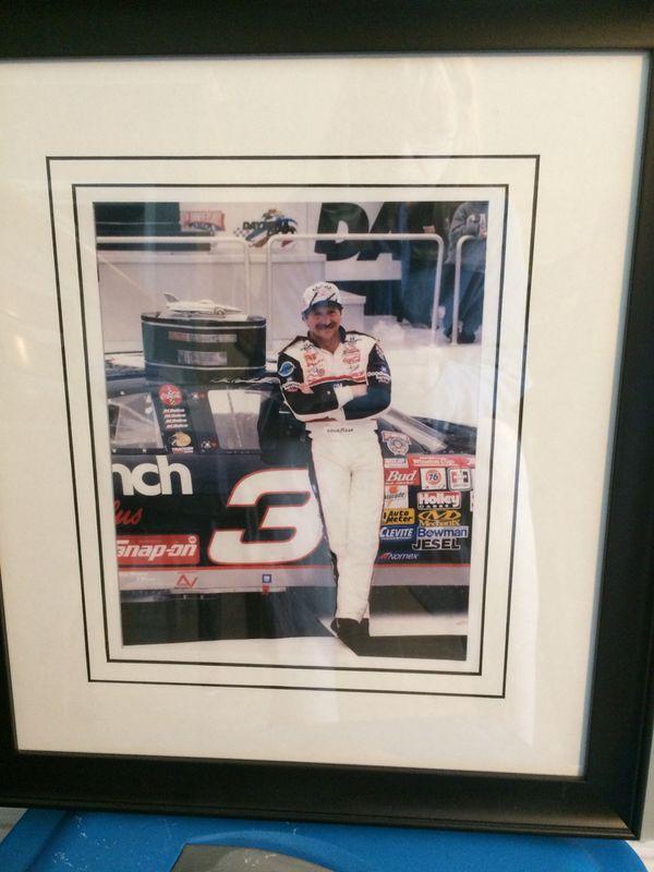 Dale Earnhardt framed picture $20 firm for Sale in Winston-Salem, NC ...