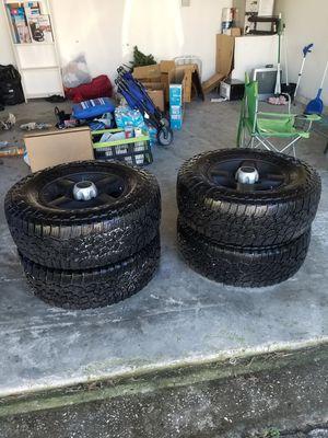 265/70R16 set of 4 Falken Wildpeak AT3W Tires for Sale in Kissimmee, FL