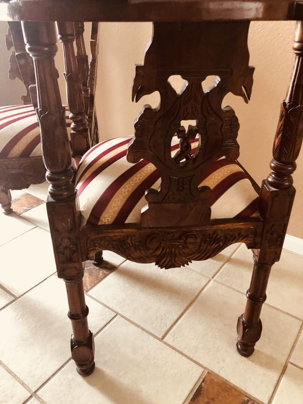 "- Antique ""gossip"" Chairs (Antiques) In Victorville, CA - OfferUp"