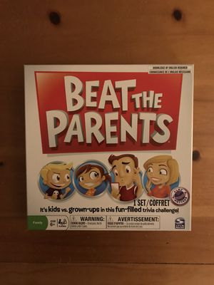 Beat the Parents Board Game for Sale in Glenelg, MD