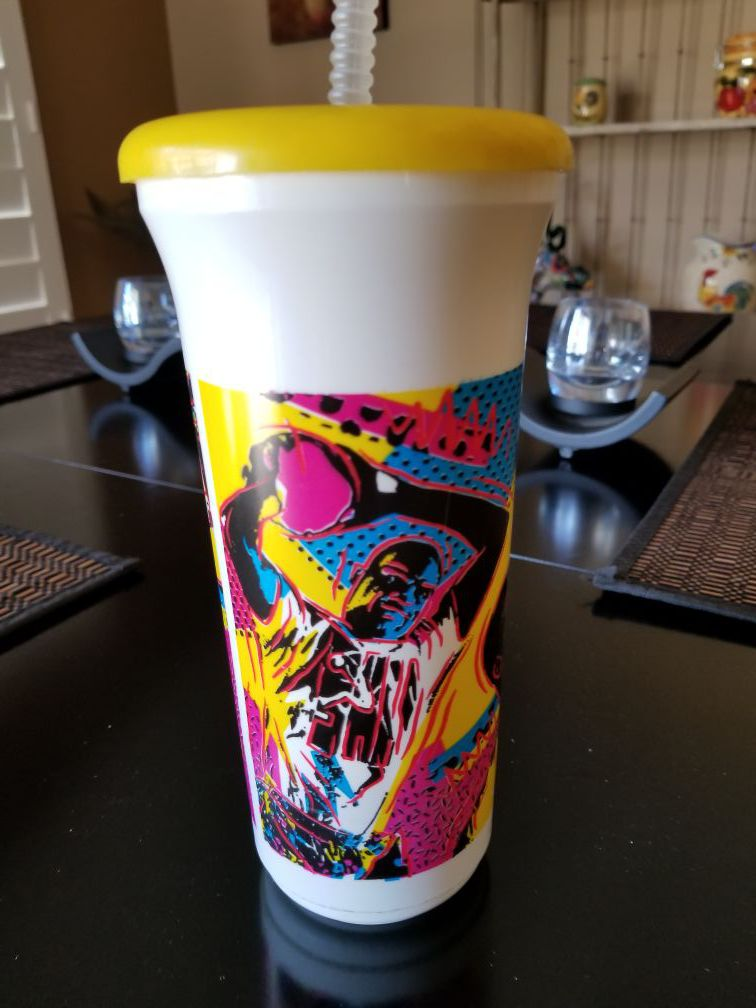 2 Limited Edition Shaq Cups