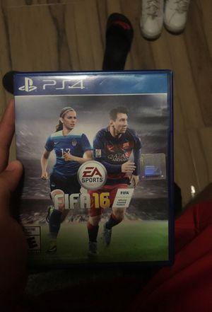 FIFA 16 PS4 for Sale in Orlando, FL