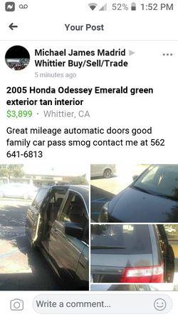 2005 Honda Odyssey Thumbnail