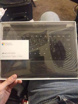 Microsoft Surface Pro Alcantara Signature Type Cover for Sale in Salt Lake City, UT