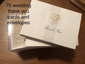Wedding thank you cards for Sale in Damascus, MD