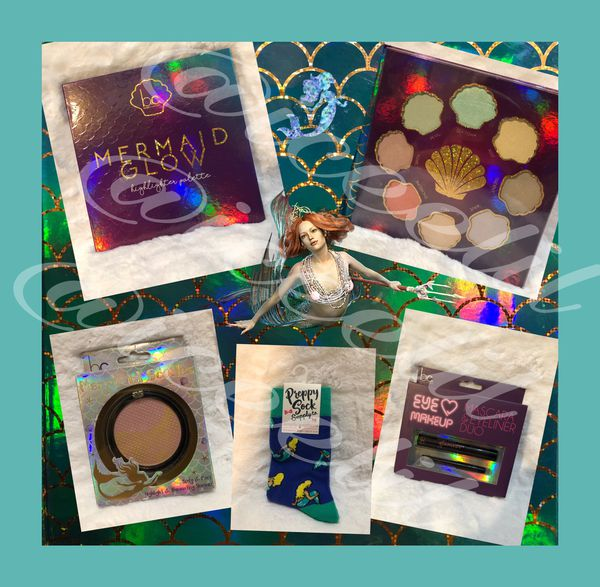 NIB b c  Beauty Concepts MermaidsMake Up Bundle Set  All Brand New! Get the  MerGlamour for Sale in Virginia Beach, VA - OfferUp