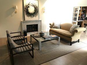 Mitchel Gold camelback sofa for Sale in Mercer Island, WA