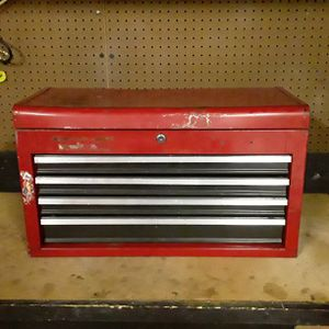 Photo Craftsman 4 drawer tool box