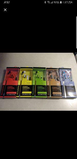 Assorted Aux Earphones for Sale in Las Vegas, NV