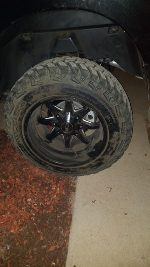 Off road wheels and tires for Sale in Phoenix, AZ