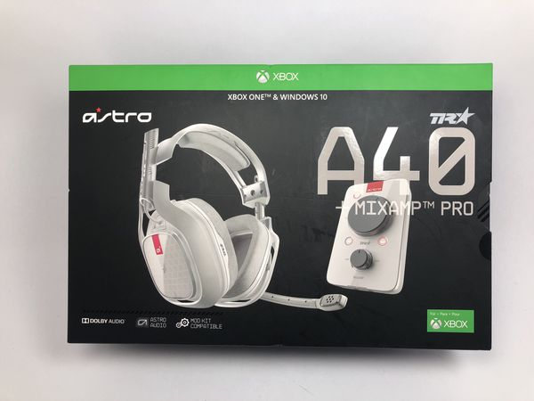 5f380b67a78 ASTRO Gaming A40 TR Headset + MixAmp Pro TR for Xbox One for Sale in ...