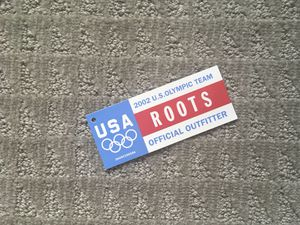 Vintage 2002 Winter Olympics Salt Lake City ROOTS Clothing Tag US Olympic Team for Sale in Los Angeles, CA