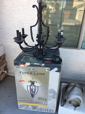 Foyer lamp and over table lamp for Sale in Phoenix, AZ