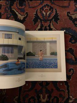David Hockney: A Retrospective Art Book Thumbnail