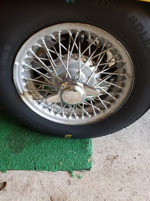 Photo Rims and tires for mg midget