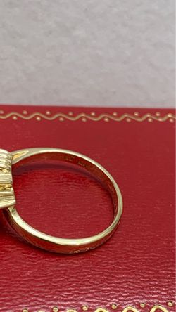 14K GOLD RING WITH RUBY, SAPPHIRE AND EMERALD Thumbnail