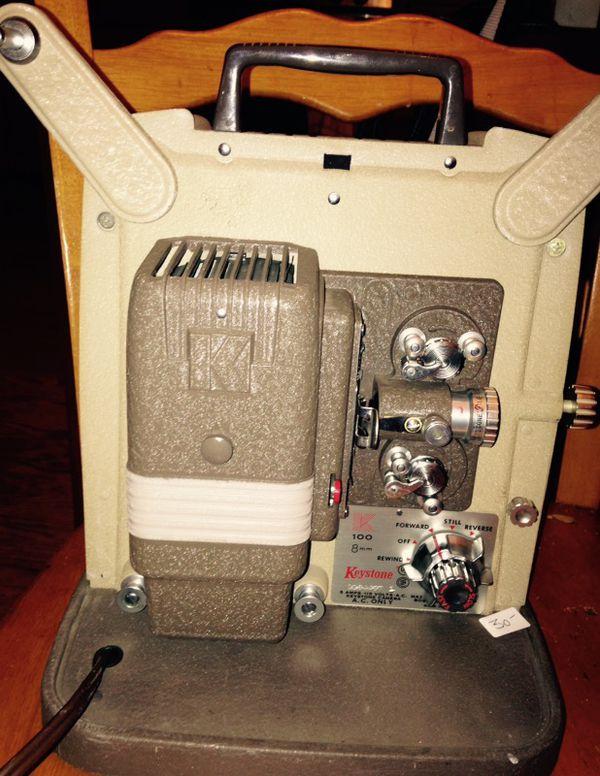 Keystone k 100 vintage 8mm film projector  for Sale in Seattle, WA - OfferUp
