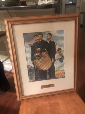 Norman Rockwell Baseball Umpire Print for Sale in Middle River, MD
