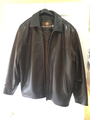 Marc New York genuine leather jacket for men- Large for Sale in Hoffman Estates, IL