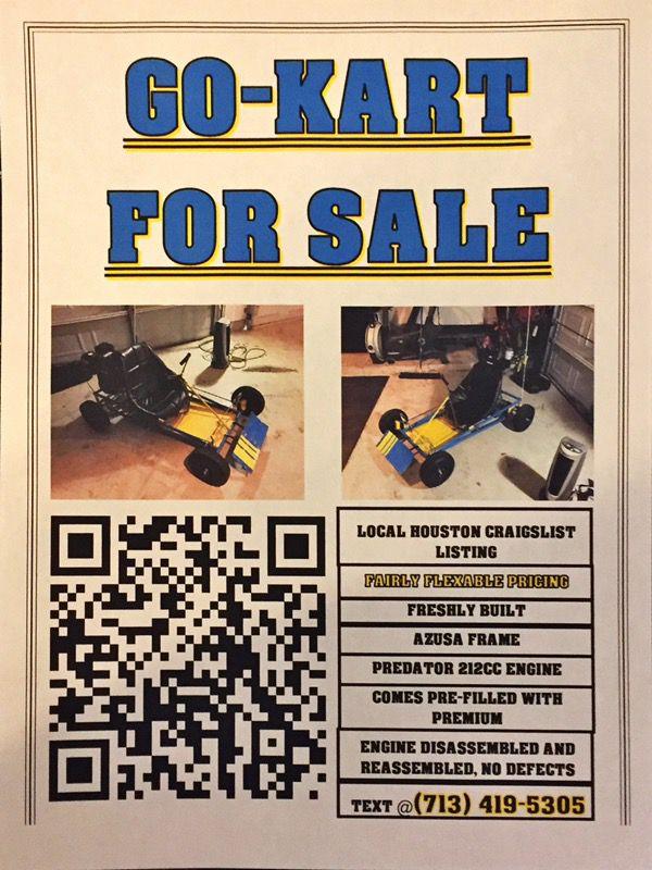 Azusa Go-Kart for Sale in Houston, TX - OfferUp