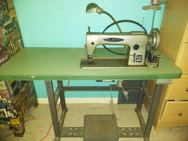 Glaco Model 4040 Industrial Sewing Machine For Sale In Mesquite TX Best Glaco Industrial Sewing Machine