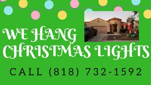 WE HANG CHRISTMAS LIGHTS for Sale in Laveen Village, AZ