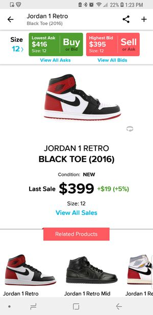 newest collection aa5fc 5b752 New and Used Jordan 1 for Sale in La Puente, CA - OfferUp