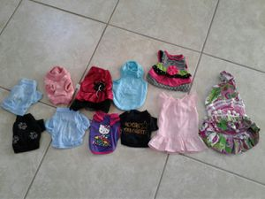 Small dog clothes for Sale in Kissimmee, FL