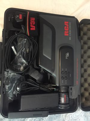 Rca Vhs Camcorder For Sale In Deer Park Tx Offerup