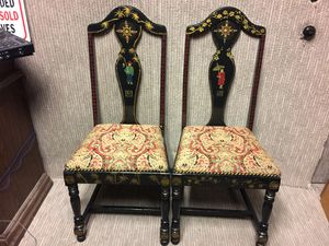 Hand painted Asian chairs for Sale in Austin, TX
