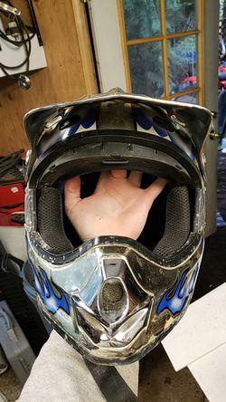 Dirt bike helmet Thumbnail