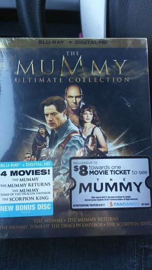 The mummy ultimate collection for Sale in Dallas, TX