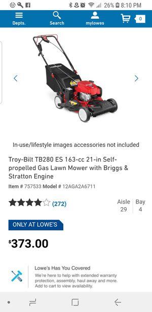 Carburetor kit for Troy-Bilt TB280 ES 163-cc 21-in Self-propelled Gas Lawn Mower