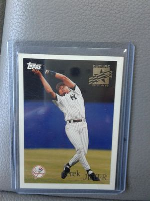 Baseball card Derek Jeter Topps for Sale in Orlando, FL