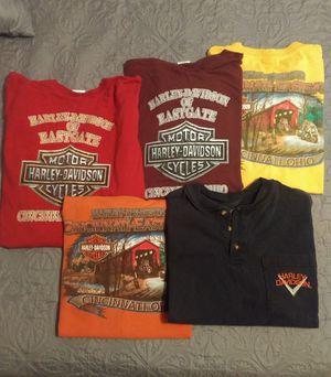 Photo Men's Harley Davidson T-Shirts