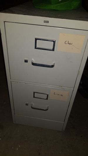 2 Drawer Metal File Cabinet for Sale in Phoenix, AZ