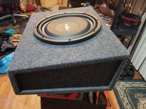 """12"""" skar audio slim subwoofer for Sale in Sterling, VA"""